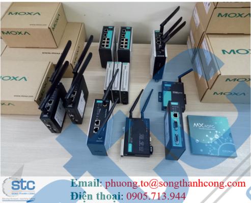 Đại lý Moxa Switch Công Nghiệp Việt Nam - Moxa Việt Nam