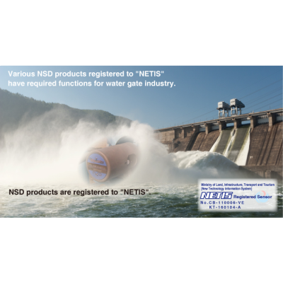 Encoder NSD dùng trong các cửa đập
